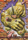 Aleksei Sytsevich (Earth-616) from Marvel Masterpieces Trading Cards 1993 Set 0001.jpg