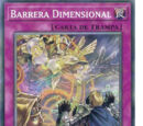 Barrera Dimensional