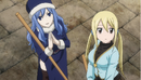 Lucy and Juvia cleaning up.png