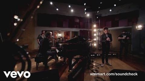 A Great Big World - Rockstar (Walmart Soundcheck)