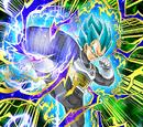 Determined to Evolve Super Saiyan God SS Vegeta