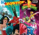 Justice League/Power Rangers Vol.1 1