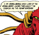 Kkallakku (Earth-616) from Doctor Strange, Sorcerer Supreme Vol 1 31 001.jpg