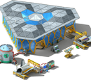 Space Shuttle Tailpiece Plant