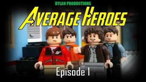LEGO Average Heroes Episode 1 (Stop-Motion)