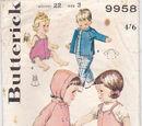 Butterick 9958