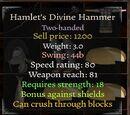 Hamlet's Divine Hammer