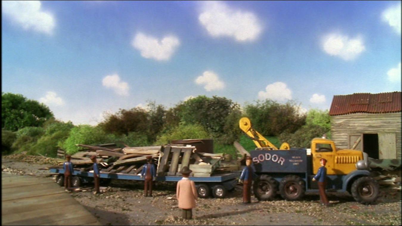 TV版第7シーズンのブッチの平台車