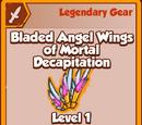 Bladed Angel Wings of Mortal Decapitation (Legendary)