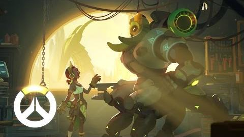 NEW HERO - COMING SOON Orisa Origin Story Overwatch