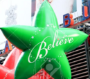 Green Believe Star
