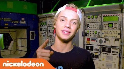Jace Norman for the 2-Part Special 'Space Invaders' - Nick