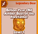 Billion Year Old Amber Bust of the Forefather (Legendary)