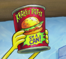 Krabby Patty in a Can