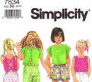 Simplicity 7834 B