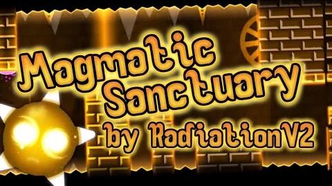 Magmatic Sanctuary - RadiationV2 (3 Coins) Geometry Dash