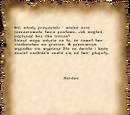 List ostrzegawczy Xardasa