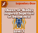 Queen-of-Blades Inspired Supersuit of Swankiness (Legendary)