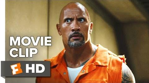 The Fate of the Furious Movie CLIP - Prison Riot (2017) - Dwayne Johnson Movie
