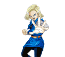 Android 18 vs Guldo
