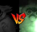 Furby vs Mr. Widemouth
