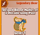 Striped Blond Mullet of a Decade Long Past (Legendary)