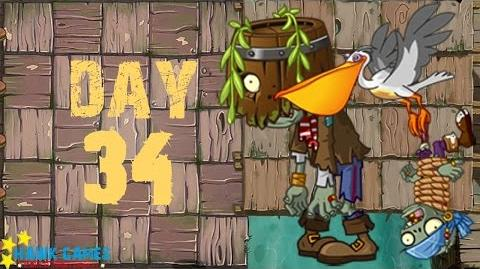 Pirate Seas - Day 34