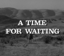 A Time for Waiting