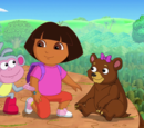 Dora and the Very Sleepy Bear
