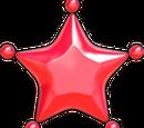 Petite étoile de couleur