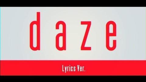 【MV】daze【Lyrics Ver.】-0