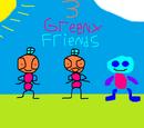 3 Greeny Friends