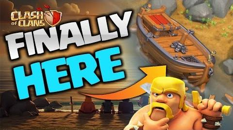 WHAT IS THIS BOAT IN CLASH OF CLANS?!! COC May Update 2017