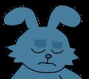 Conejo triste
