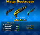 Golden Mega Destroyer