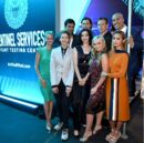Upfronts 2017 Blair Redford, Amy Acker, Stephen Moyer, Sean Teale, Emma Dumont, Jamie Chung, Coby Bell, Percy Hynes White, and Natalie Alyn Lind.jpg