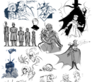 Marr's Sketch Dump (Scribbles as far as the eye can see...)