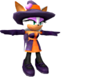 Sonic Runners Halloween Rouge in-game model.png