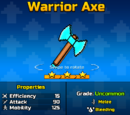 Warrior Axe Up2