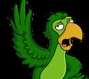 Wisecracking Parrot