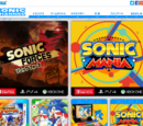 Official Sonic sites