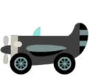 Black Plane Kart
