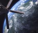 Mishima Zaibatsu's Orbital Laser Satellite