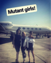 Fox Promotion Executive Conference 2017 Natalie Alyn Lind, Jamie Chung, and Emma Dumont 'Mutant Girls'.png