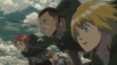Nifa observes as Eren engages the Armored Titan.png