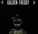 Ignited Golden Freddy