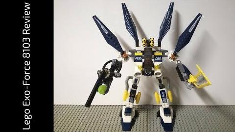 Lego Exo-Force 8103 Sky Guardian Review (HD)
