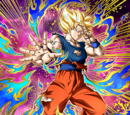 Strike of Gratitude and Respect Super Saiyan Goku