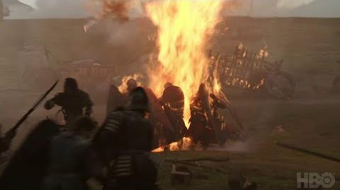 Game of Thrones The Loot Train Attack (HBO)