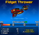 Fidget Thrower